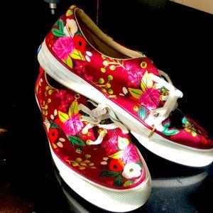 Size 7 Kedsx Rifle paper company casual sneakers!